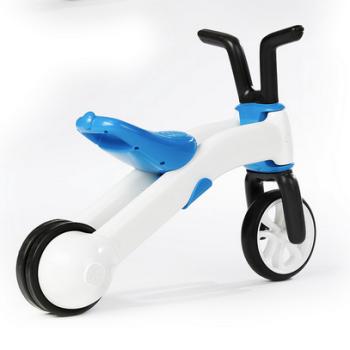 Беговел Chillafish Bunzi (для детей от 1-1,5 года, резиновые колеса) синий